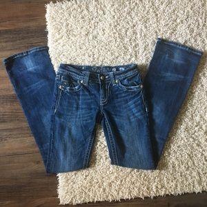 Miss Me Medium Wash Bootcut Jeans Jp5090 Size 27